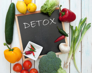 To detox is to get rid of waste and improve your health.