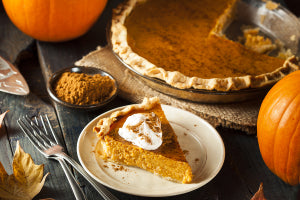Make a delicious Thanksgiving dessert with pumpkin and natural sweeteners.