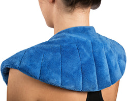 Warming Shoulder & Body Wrap with Clay Bead Filling