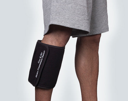 Anywhere It Hurts Hot or Cold Cuff on Calf