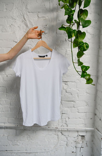 The Bamboo Perfect T in White