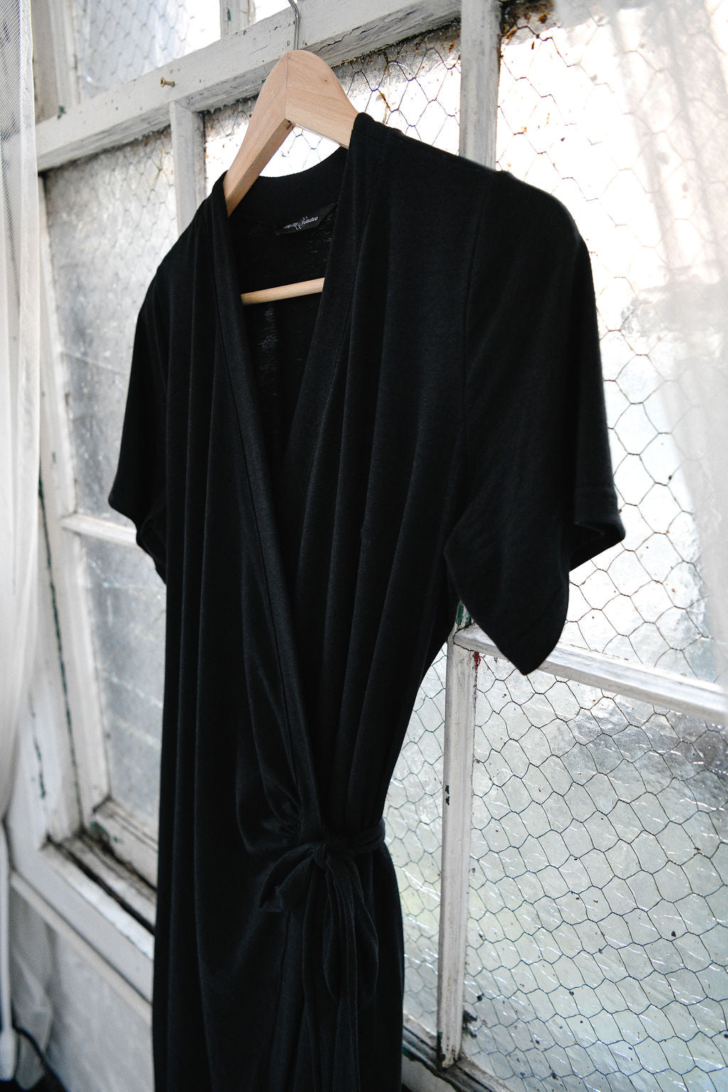 The Wrap Dress in Black