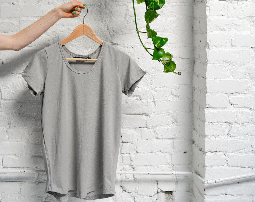 The Bamboo Perfect T in Grey