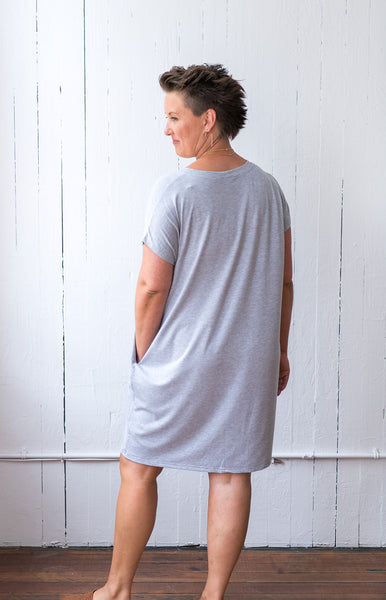 The Everyday Dress in Grey
