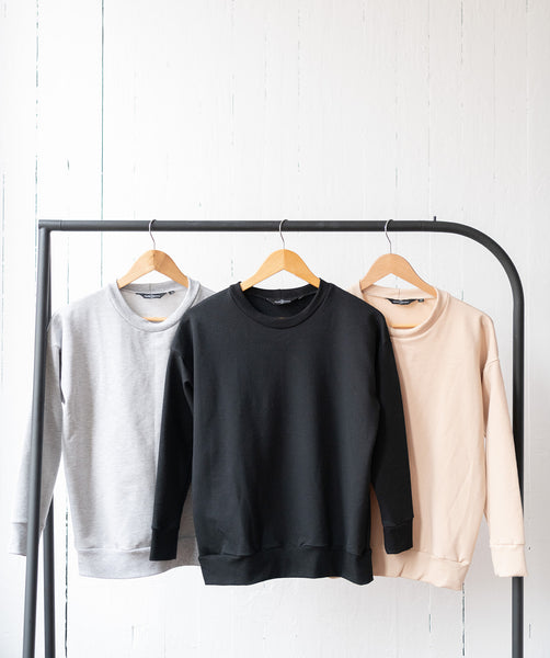 The Perfect Sweatshirt in Black