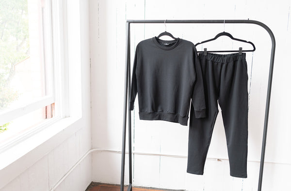 The Perfect Sweatpants in Black