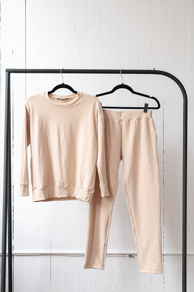 The Perfect Sweatpants in Latte