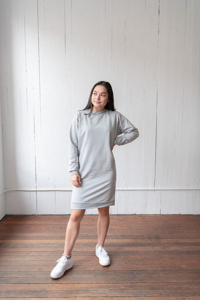 The Sweatshirt Dress in Athletic