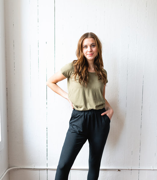 The Bamboo Perfect T in Olive