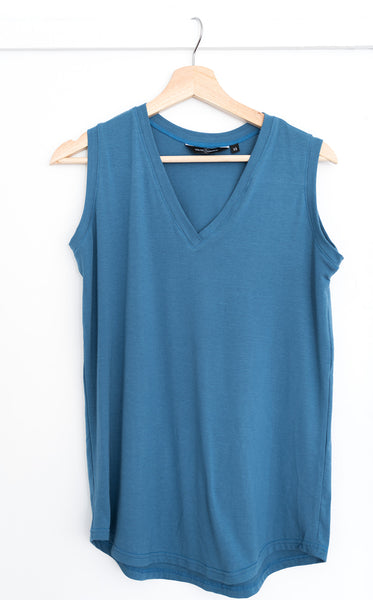 The Perfect Tank in Slate Blue
