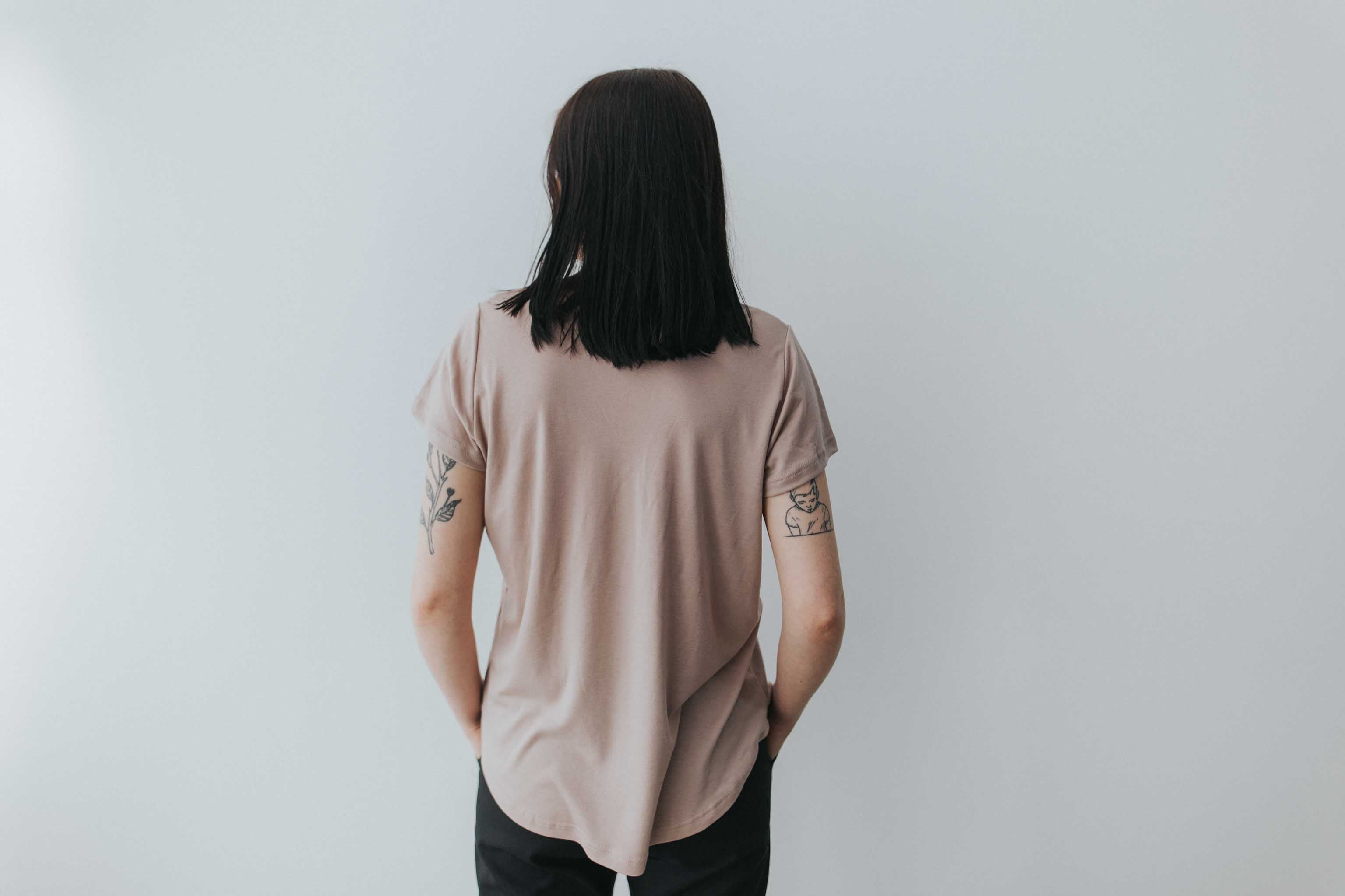 The Perfect T in Blush