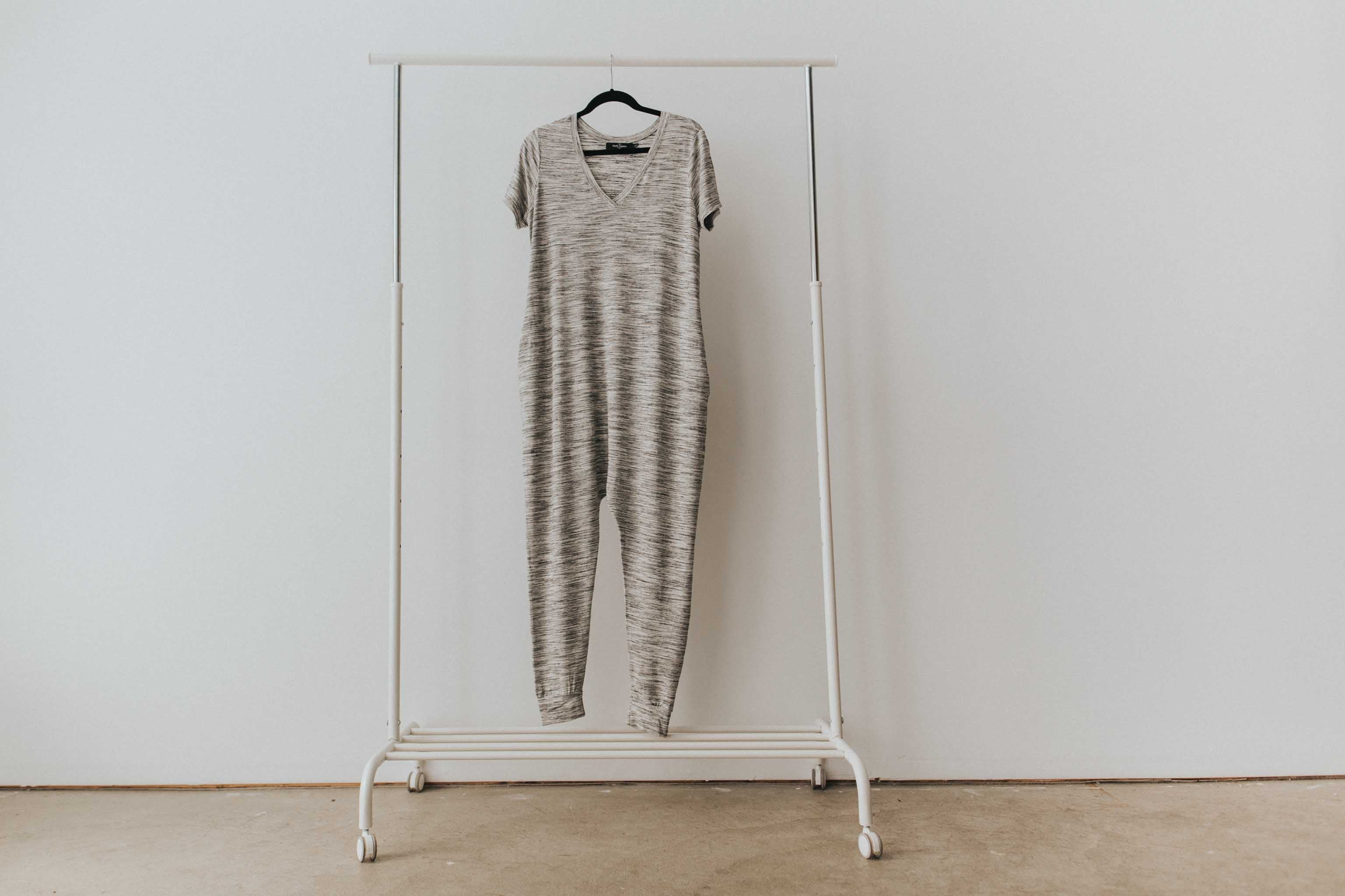 The Romper in Marble
