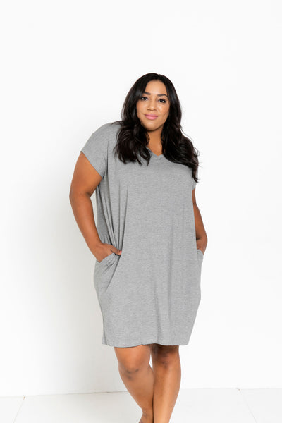 The Everyday Dress in Light Grey