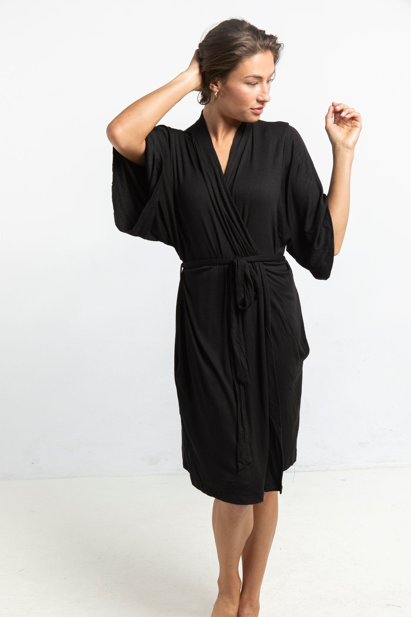 The Robe in Black