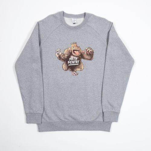 Jumper | 'Gorilla' on Grey