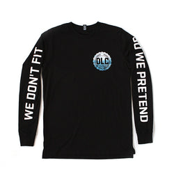 Longsleeve | 'The Endless Mile' on Black
