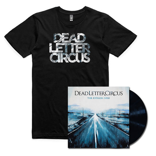 PRE-ORDER | Vinyl LP w/ Signed Insert + T-Shirt Bundle - The Endless Mile (2017)