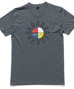 T-Shirt | 'Unite' on Grey