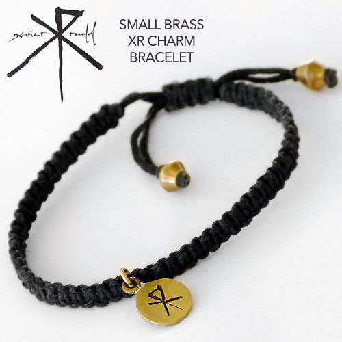Jewellery | Small Brass XR Charm Bracelet