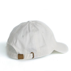 Hat | 'Logo' Dad Cap in White