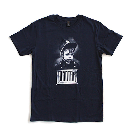 T-Shirt | 'Telling Scenes' on Navy