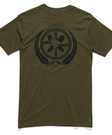 T-Shirt | UN Logo on Olive