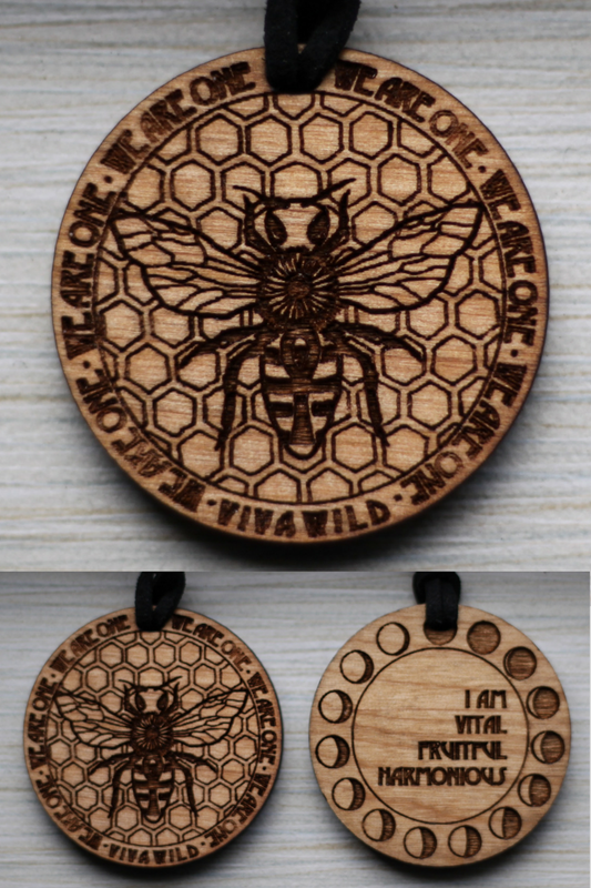 Power Honey Bee Pendant