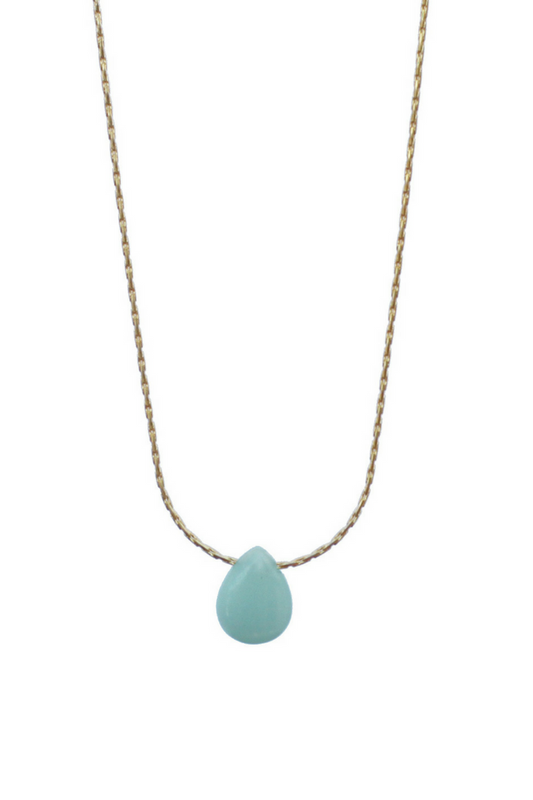 Blue Jade Necklace