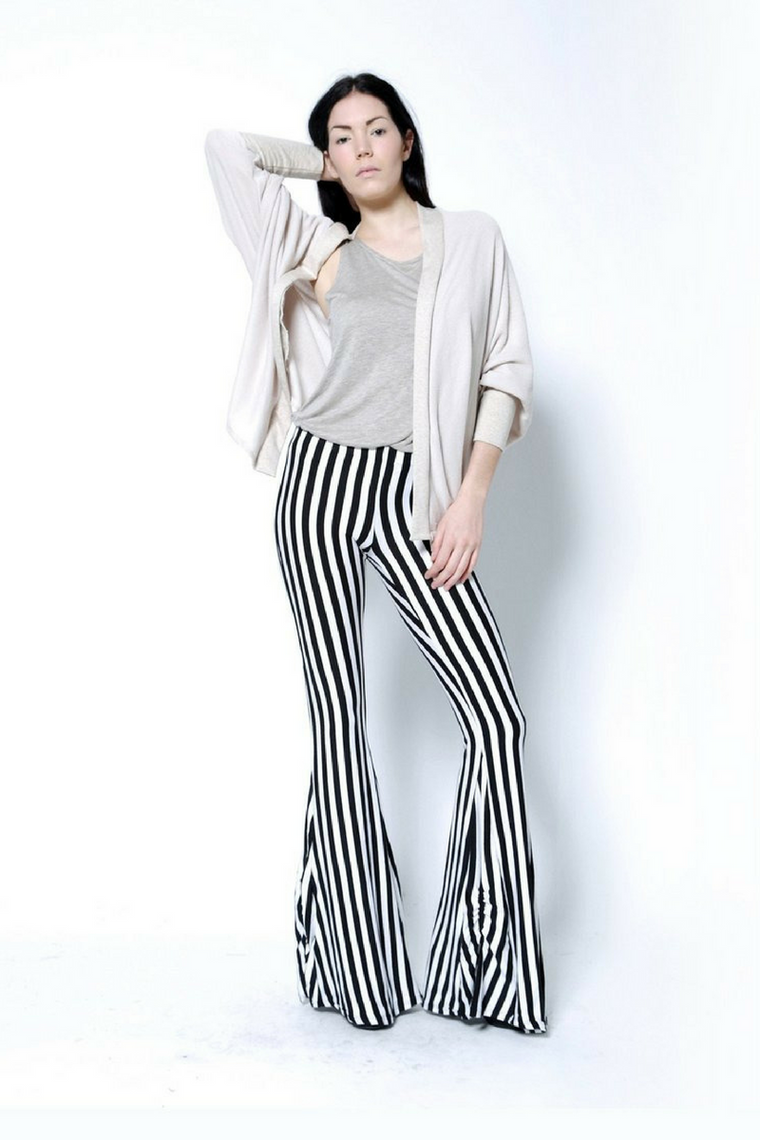 Evette Stripe Pants