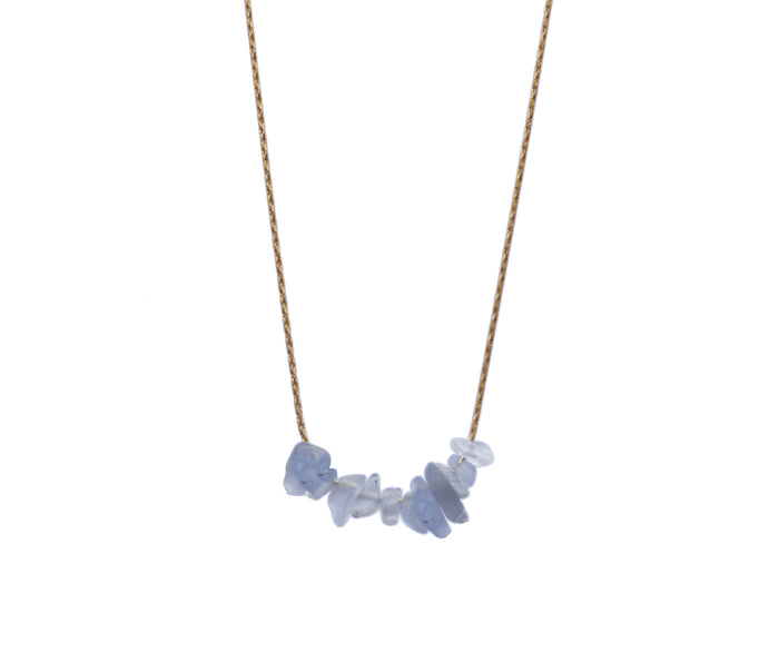Blue Lace Necklace