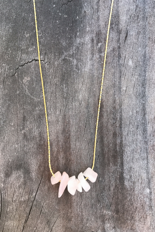 Rose Quartz Love Necklace