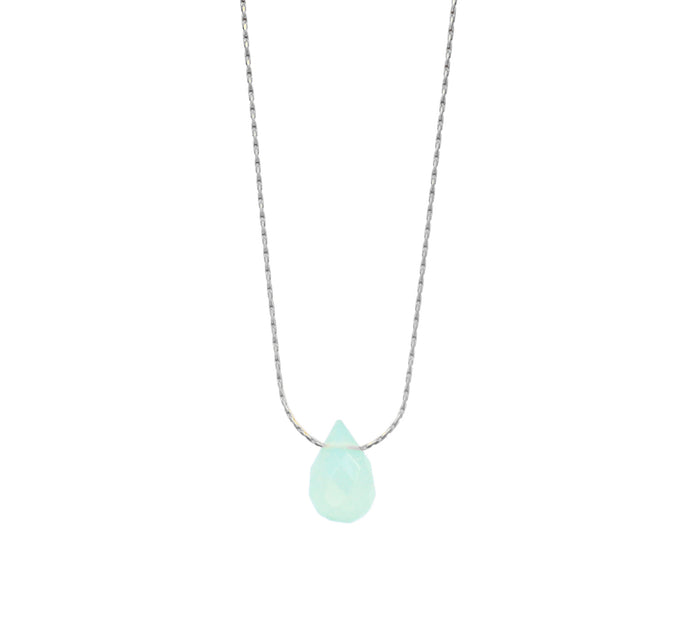 Seaglass Crystal Necklace