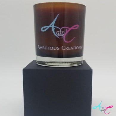 Sensual Amber Soy Candle