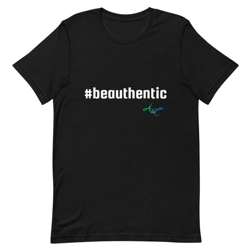 #beauthentic Men's T-Shirt