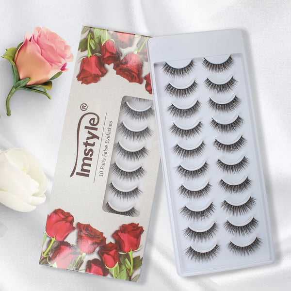 3D False Eyelashes-A036