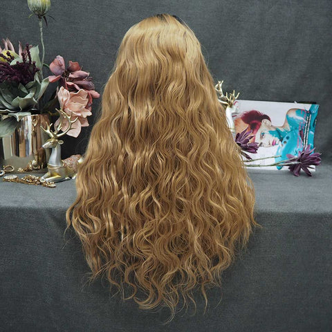 Limited Wig IM23 Honey Blonde Wavy Lace Wig