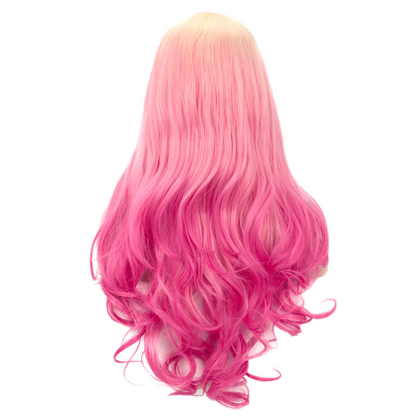 New Blonde Pink Lace Front Wigs 613TPink