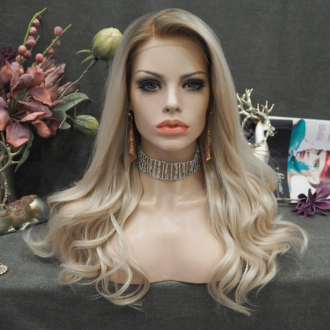 Limited Wig IM14 Blonde Wig Free Part