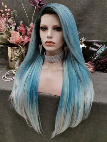 Elegance Blue Ombre Wigs IM34CT4516/4503/4330