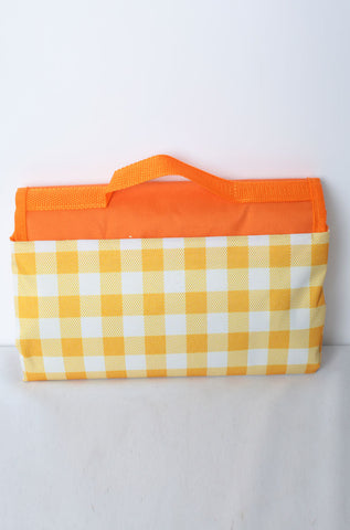 Syrrna Picnic Blanket Yellow & White 145cm * 200cm