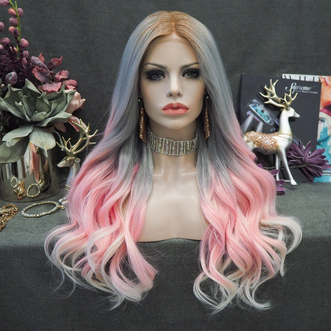 Limited Wig IM21 Dreamy Mixed Color Wig
