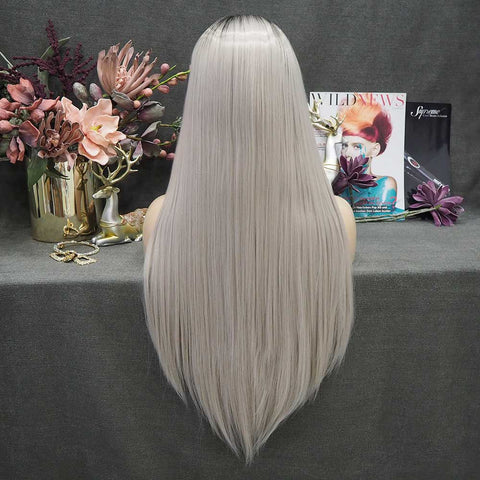 2020 New Arrival Gray Wig -W111