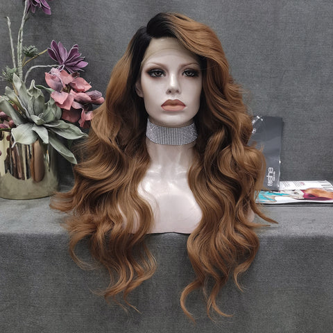 2020 New Brown Lace Wig W108