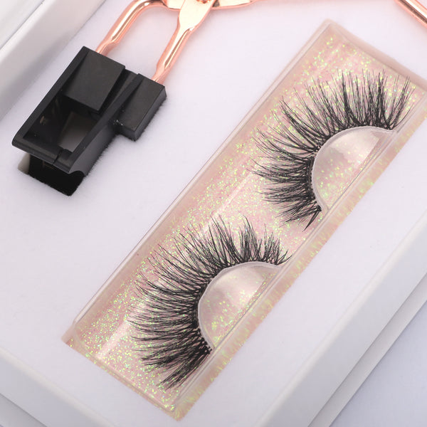 Soft Magnetic Eyelashes Clips Set No Glue Synthetic False Lashes