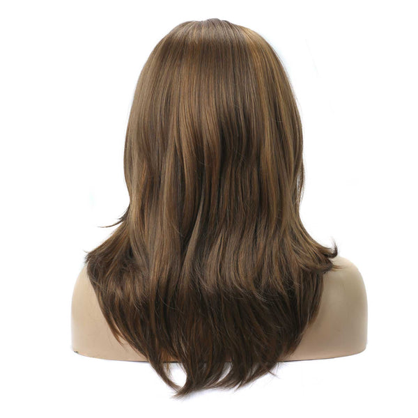 Brown Bob Wig with Bangs MA1-827