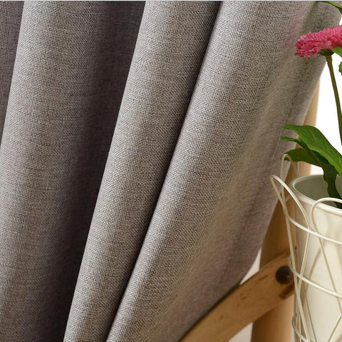 Y.MOON Grommet Blackout Curtains for Bedroom