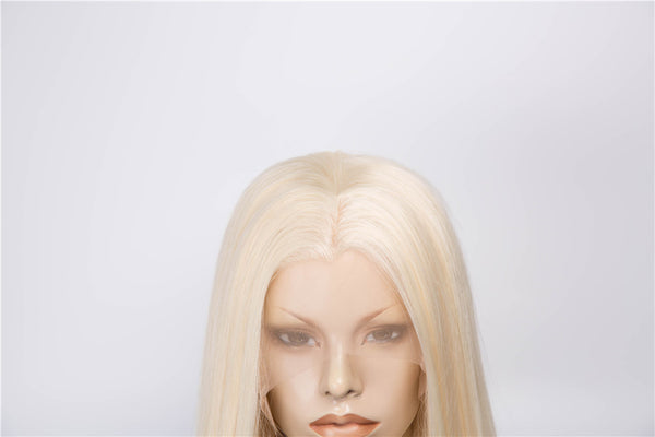 Blonde Straight Glueless Synthetic Lace Front Wigs - Imstylewigs