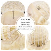 Blonde Bob Lace Front Glueless Wigs - Imstylewigs