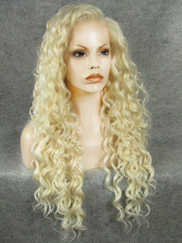 Blonde Curly Lace Front Wigs IM18613