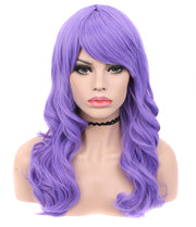 Violet Purple Classic Cosplay Synthetic Non-Lace Wigs - Imstylewigs